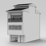 پلان معماری خانه روماک